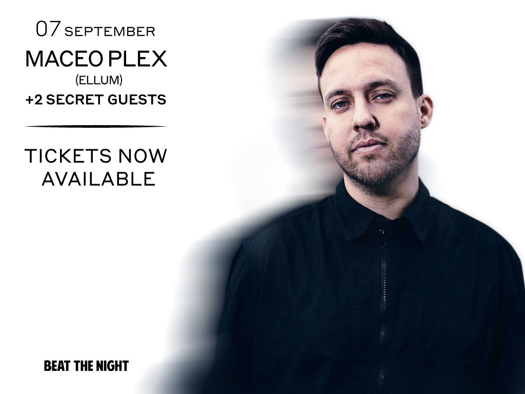 American DJ / Producer Eric Estornel known as Maceo Plex will be in Istanbul with the organization of Beat The Night in Hypnos Hall on Friday 7th September to give an unforgettable night to his fans!