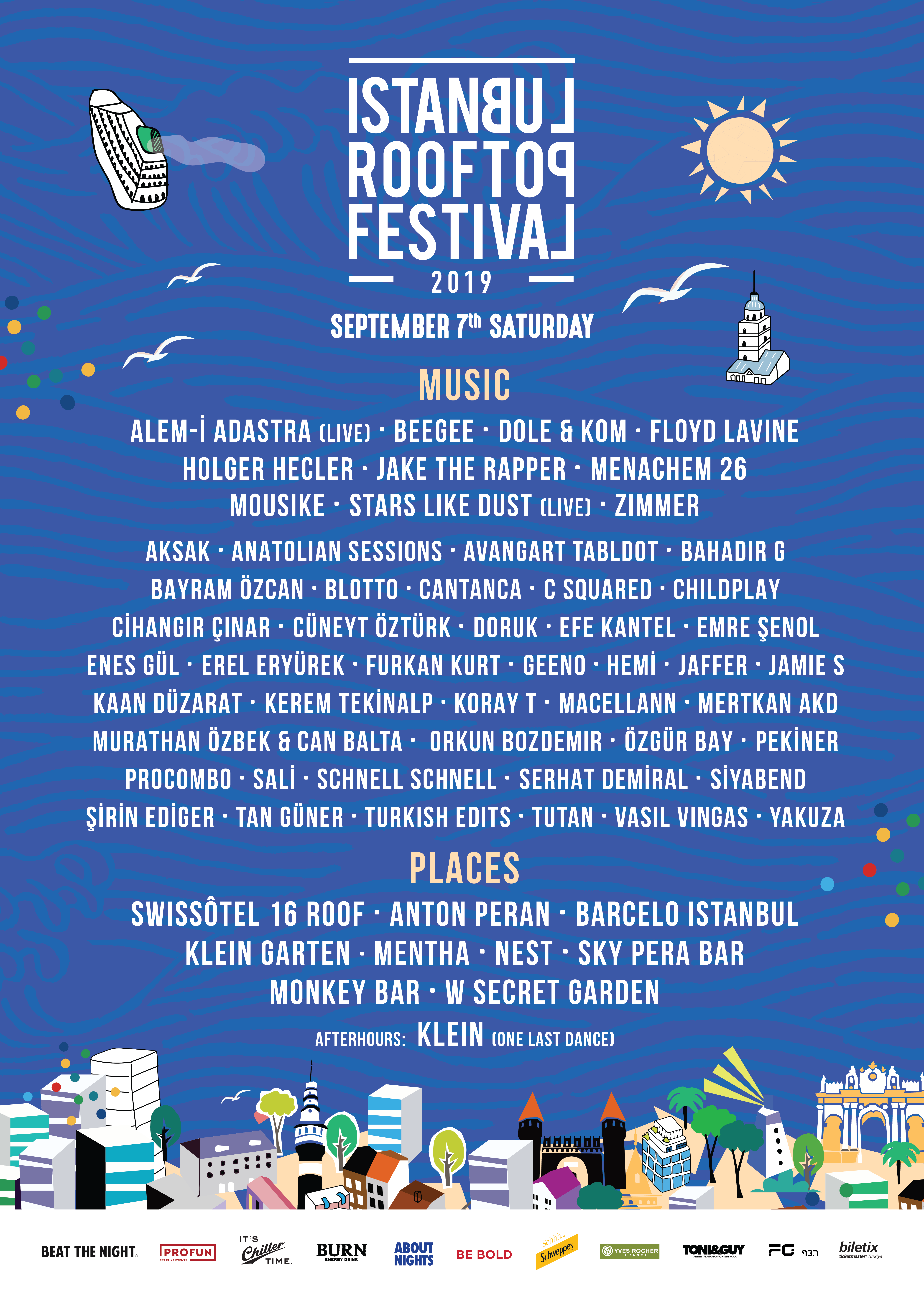 Istanbul Rooftop Festival 2019